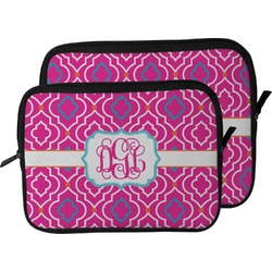Colorful Trellis Laptop Sleeve / Case (Personalized)