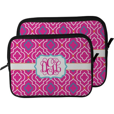 Colorful Trellis Laptop Sleeve / Case (Personalized)