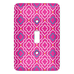Colorful Trellis Light Switch Covers - Multiple Toggle Options Available (Personalized)