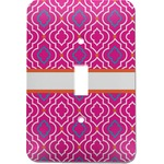 Colorful Trellis Light Switch Cover (Single Toggle) (Personalized)