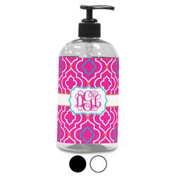 Colorful Trellis Plastic Soap / Lotion Dispenser (Personalized)
