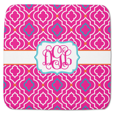 "Colorful Trellis Memory Foam Bath Mat - 48""x48"" (Personalized)"