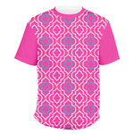 Colorful Trellis Men's Crew T-Shirt (Personalized)