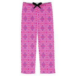 Colorful Trellis Mens Pajama Pants (Personalized)