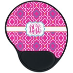 Colorful Trellis Mouse Pad with Wrist Support