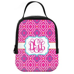 Colorful Trellis Neoprene Lunch Tote (Personalized)