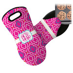Colorful Trellis Neoprene Oven Mitt (Personalized)