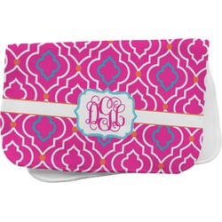 Colorful Trellis Burp Cloth (Personalized)
