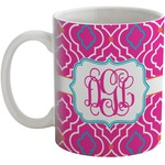Colorful Trellis Coffee Mug (Personalized)