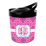 Colorful Trellis Plastic Ice Bucket (Personalized)