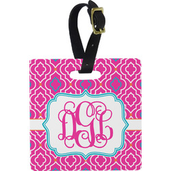 Colorful Trellis Luggage Tags (Personalized)