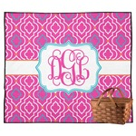 Colorful Trellis Outdoor Picnic Blanket (Personalized)