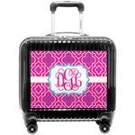 Colorful Trellis Pilot / Flight Suitcase (Personalized)
