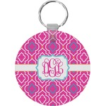 Colorful Trellis Keychains - FRP (Personalized)