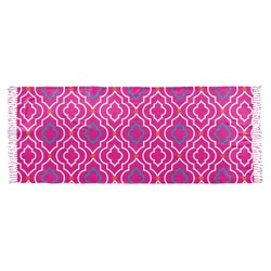 Colorful Trellis Faux Pashmina Scarf (Personalized)