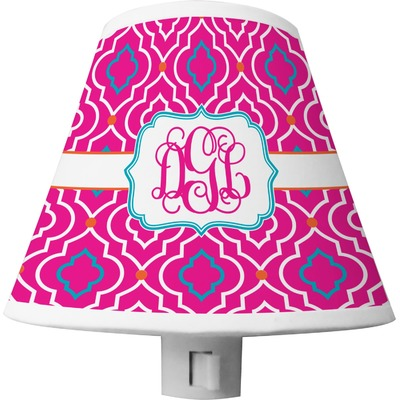 Colorful Trellis Shade Night Light (Personalized)