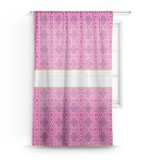 Colorful Trellis Sheer Curtains (Personalized)