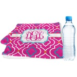 Colorful Trellis Sports & Fitness Towel (Personalized)