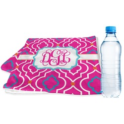 Colorful Trellis Sports Towel (Personalized)