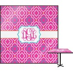 Colorful Trellis Square Table Top (Personalized)