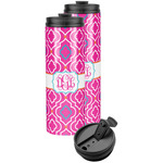 Colorful Trellis Stainless Steel Skinny Tumbler (Personalized)