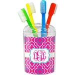 Colorful Trellis Toothbrush Holder (Personalized)