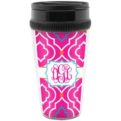 Colorful Trellis Travel Mug (Personalized)