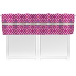 Colorful Trellis Valance (Personalized)