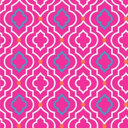 Colorful Trellis Wallpaper & Surface Covering