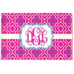 Colorful Trellis Woven Mat (Personalized)