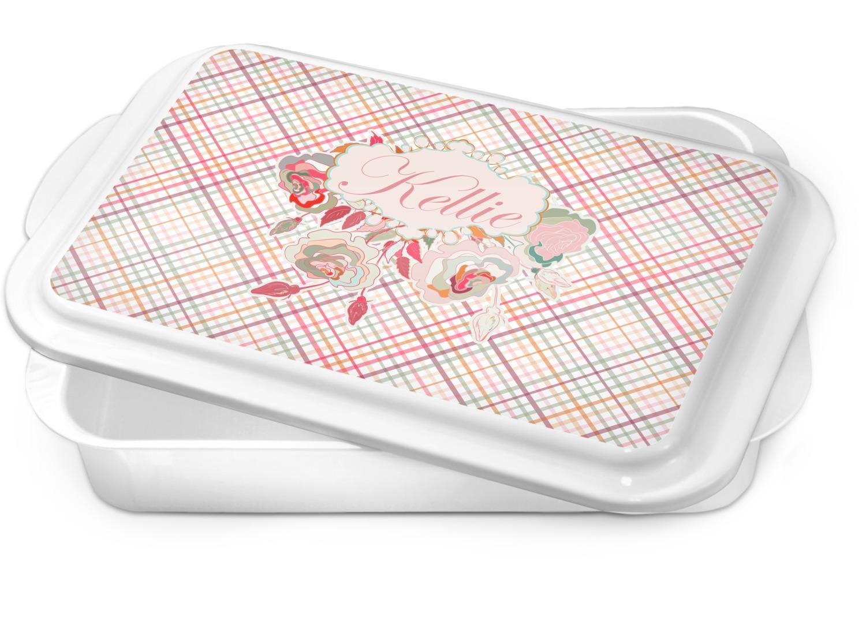 Plaid Cake Pan