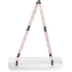 Modern Plaid & Floral Yoga Mat Strap (Personalized)