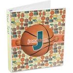 Basketball 3-Ring Binder (Personalized)