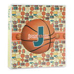 Basketball 3-Ring Binder - 1 inch (Personalized)
