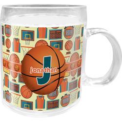 Basketball Acrylic Kids Mug (Personalized)