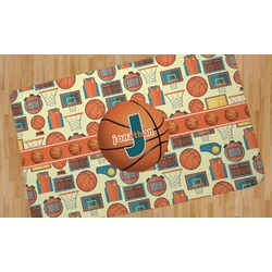 Basketball Area Rug (Personalized)
