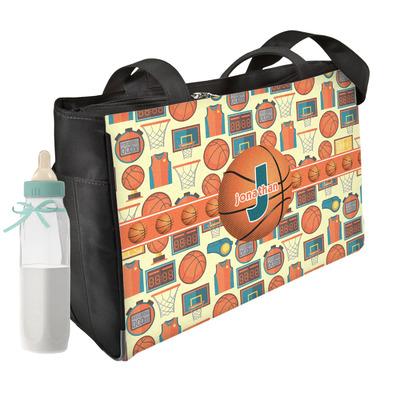 Basketball Diaper Bag w/ Name or Text