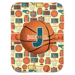 Basketball Baby Swaddling Blanket (Personalized)