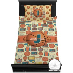 Basketball Duvet Cover Set - Toddler (Personalized)