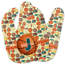 Basketball Baby Bib w/ Name or Text