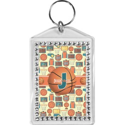 Basketball Bling Keychain (Personalized)