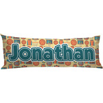 Basketball Body Pillow Case (Personalized)