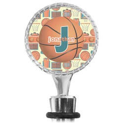 Basketball Wine Bottle Stopper (Personalized)