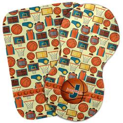Basketball Burp Cloth (Personalized)