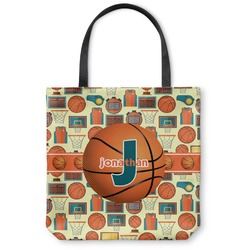 Basketball Canvas Tote Bag (Personalized)