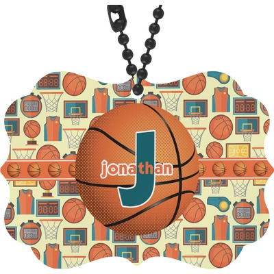 Basketball Rear View Mirror Decor (Personalized)