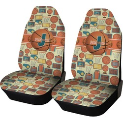 Basketball Car Seat Covers (Set of Two) (Personalized)