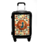 Basketball Carry On Hard Shell Suitcase (Personalized)