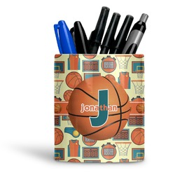 Basketball Ceramic Pen Holder