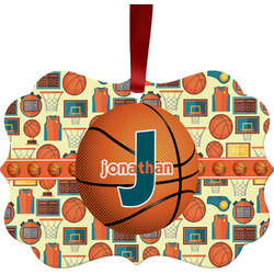 Basketball Ornament (Personalized)